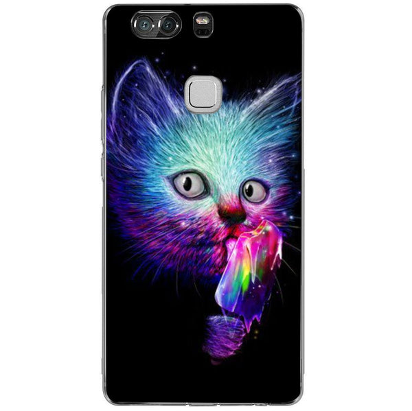 Husă Psy Cat Icecream HUAWEI P9 Plus-Guardo.shop-Guardo.shop