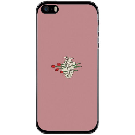 Husa Floral heart Iphone 5s