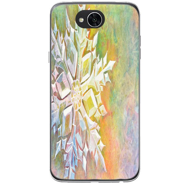 Husa Watercolor Snowflake LG X Power 2