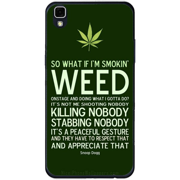Husa Weed Message LG X Power