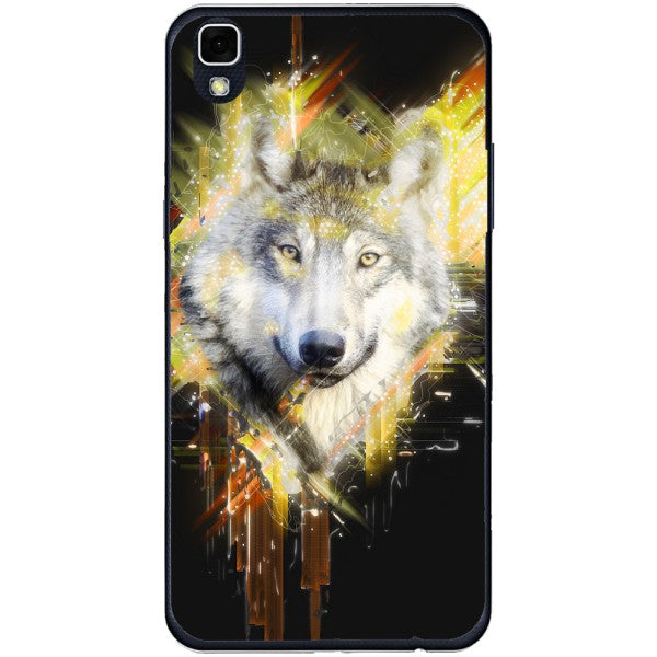 Husa Wolf muzzle art LG X Power