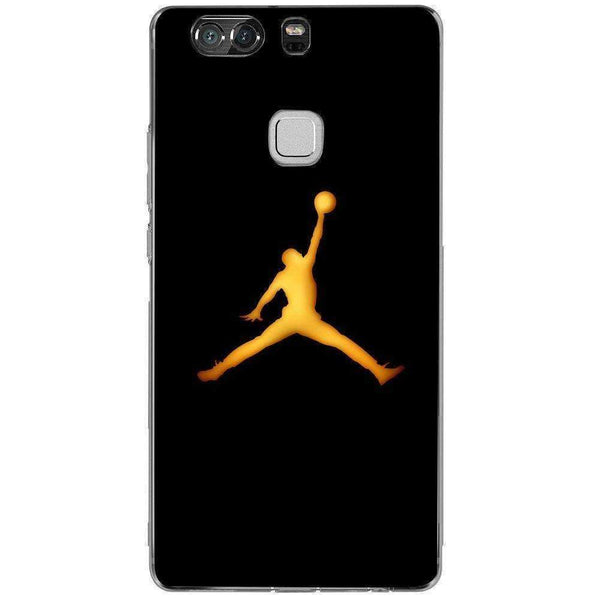 Husă Golden Jordan Logo HUAWEI P9 Plus Guardo.shop