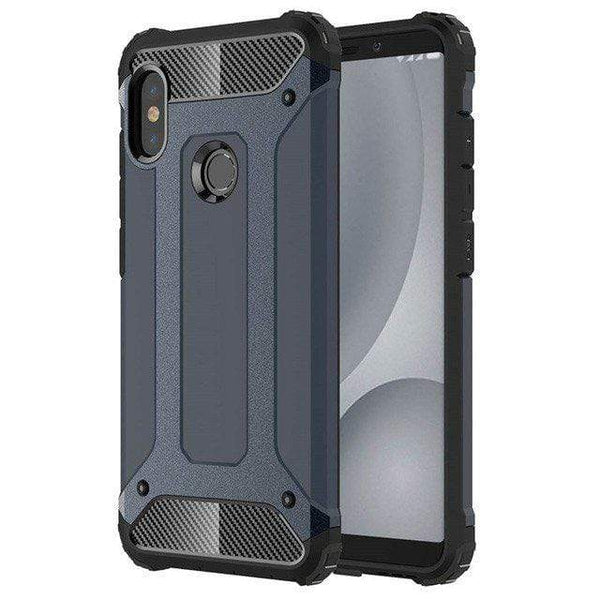 Husa Hybrid Armor Tough Rugged pentru Xiaomi Redmi S2 blue Guardo.shop
