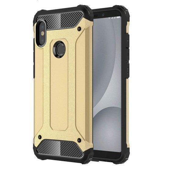 Husa Hybrid Armor Tough Rugged Pentru Xiaomi Redmi S2 Golden Guardo