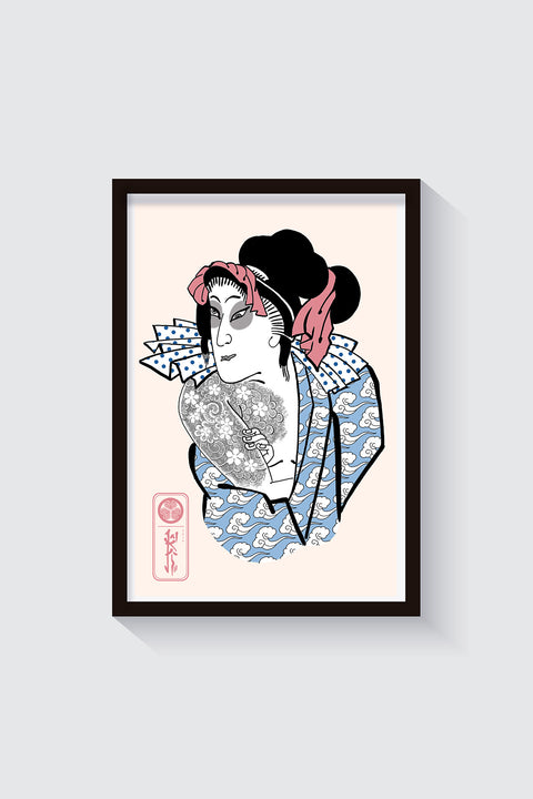 Benten Kozō, limited edition print by Manekistefy