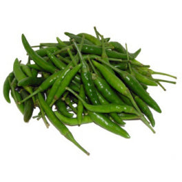 Green Chillies - 50g