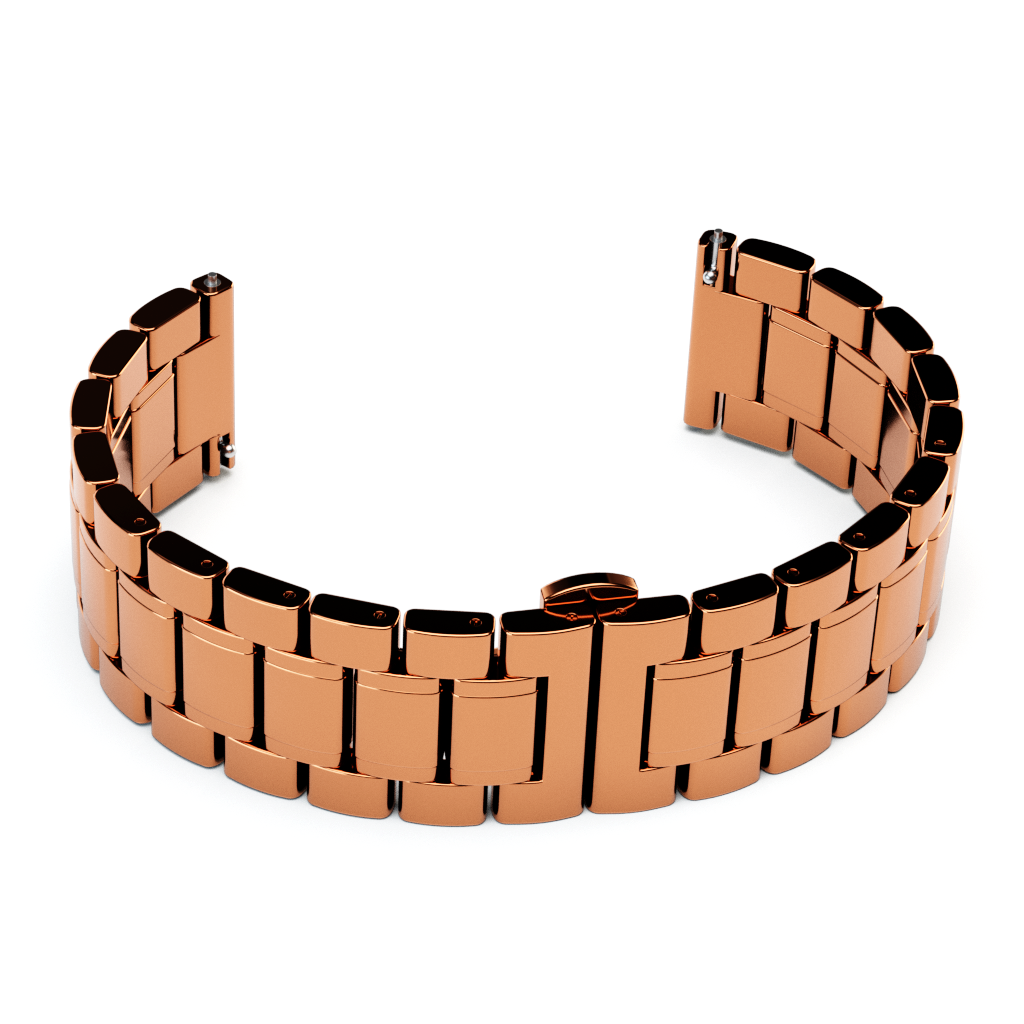 Rose Gold Gloss Link Bracelet