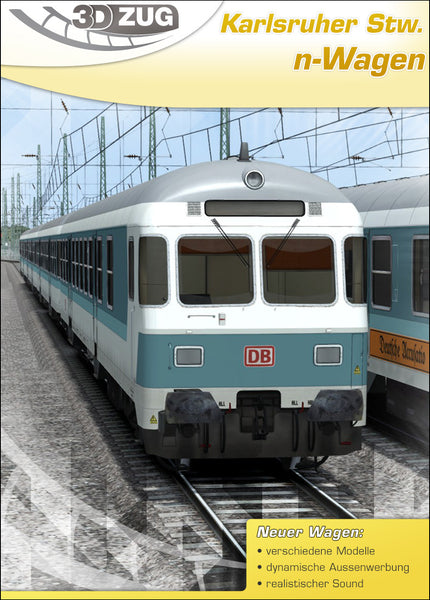 "n-Coaches ""Karlsruher cab car"" (mintgreen)"