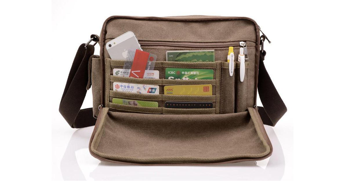 High Quality Multi-function Canvas Travel Bag