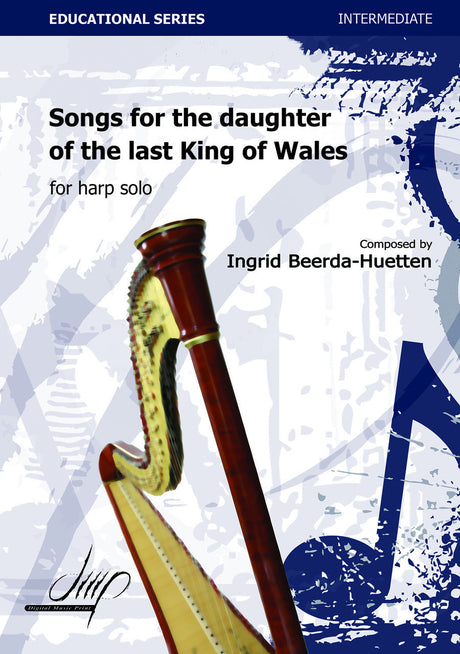 Beerda-Huetten - Songs for the daughter (Harp Solo) - H114120DMP
