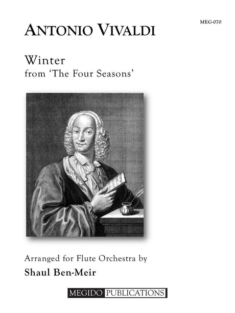 Vivaldi (arr. Ben-Meir) - Winter from 'The Four Seasons' (Flute Orchestra) - MEG070