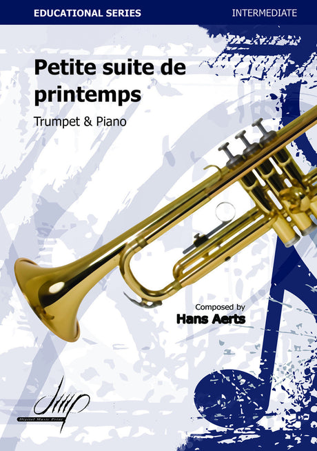 Aerts - Petite Suite de Printemps (Trumpet and Piano) - TP110082DMP