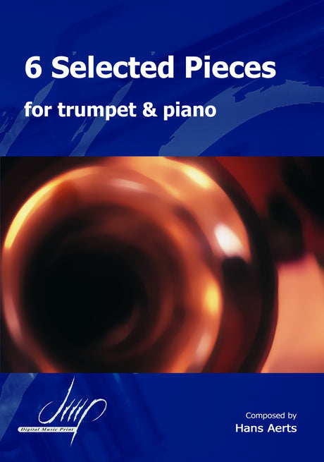 Aerts - 6 Selected Pieces for Trumpet and Piano - TP116022DMP