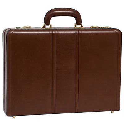 McKlein Mens DALEY Leather Attache Case