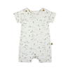 red caribou organic basic onesie