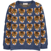 simple kids tigers pullover