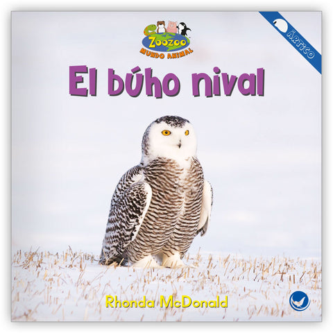 El búho nival from Zoozoo Mundo Animal