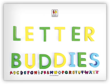 Letter Buddies Magnetic Whiteboard from Letter Buddies