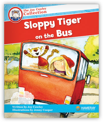Sloppy Tiger on the Bus from Joy Cowley Collection