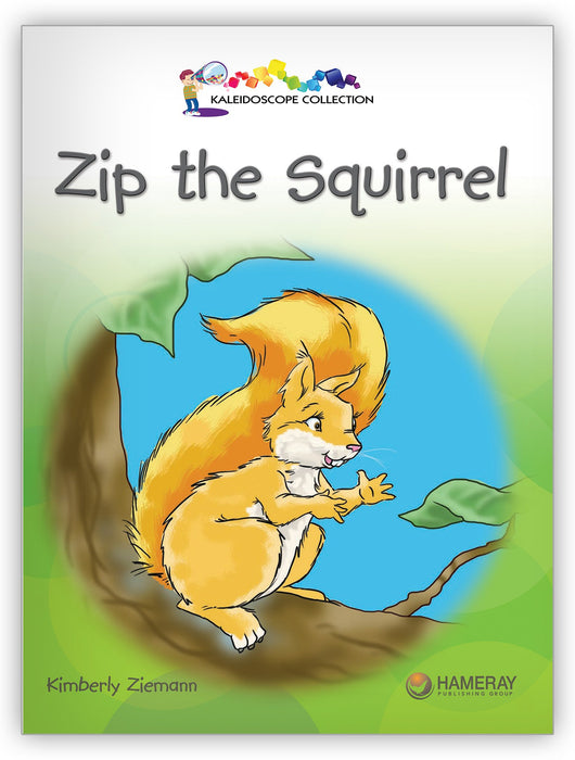 Zip the Squirrel Big Book from Kaleidoscope Collection
