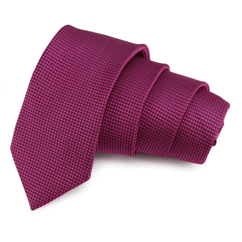 Crisp Pink Colored Microfiber Necktie for Men | Genuine Branded Product from Peluche.in