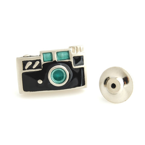 Peluche The Camera - Lapel Pin Brass, Enamel