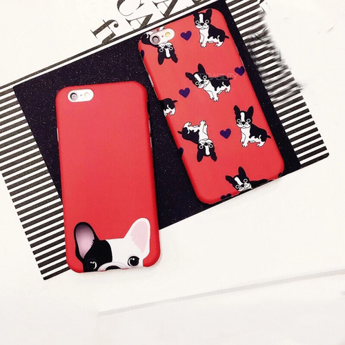 single pup multi pup red iphone case full view edgability
