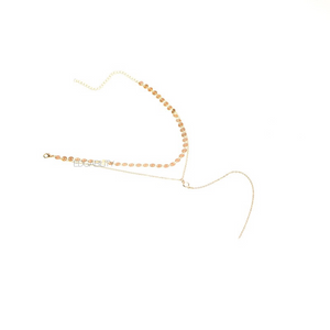layered necklace gold choker edgability full view
