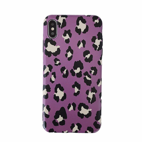 purple leopard iphone cover iphone case edgability