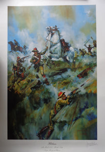 THE BATTLE OF HLOBANE BY JASON ASKEW STANDARD PRINT