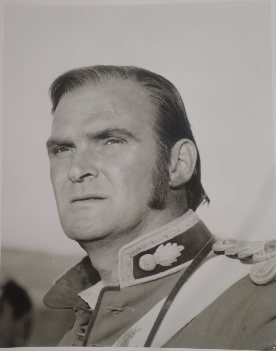 ZULU Movie Still - Featuring Stanley Baker as Lieutenant Chard