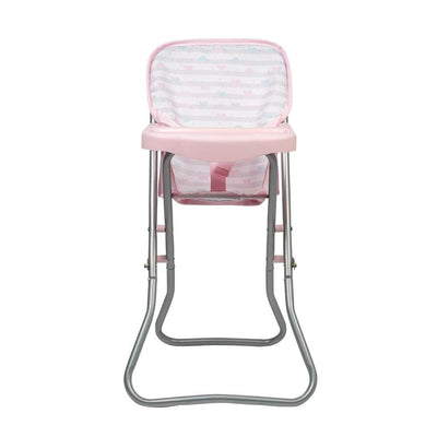 Adora Baby Doll High Chair - Pink Feeding Chair 20.5 inches
