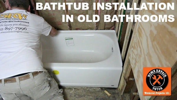Bathtub Replacement in Old Bathrooms: Our Step-by-Step Guide