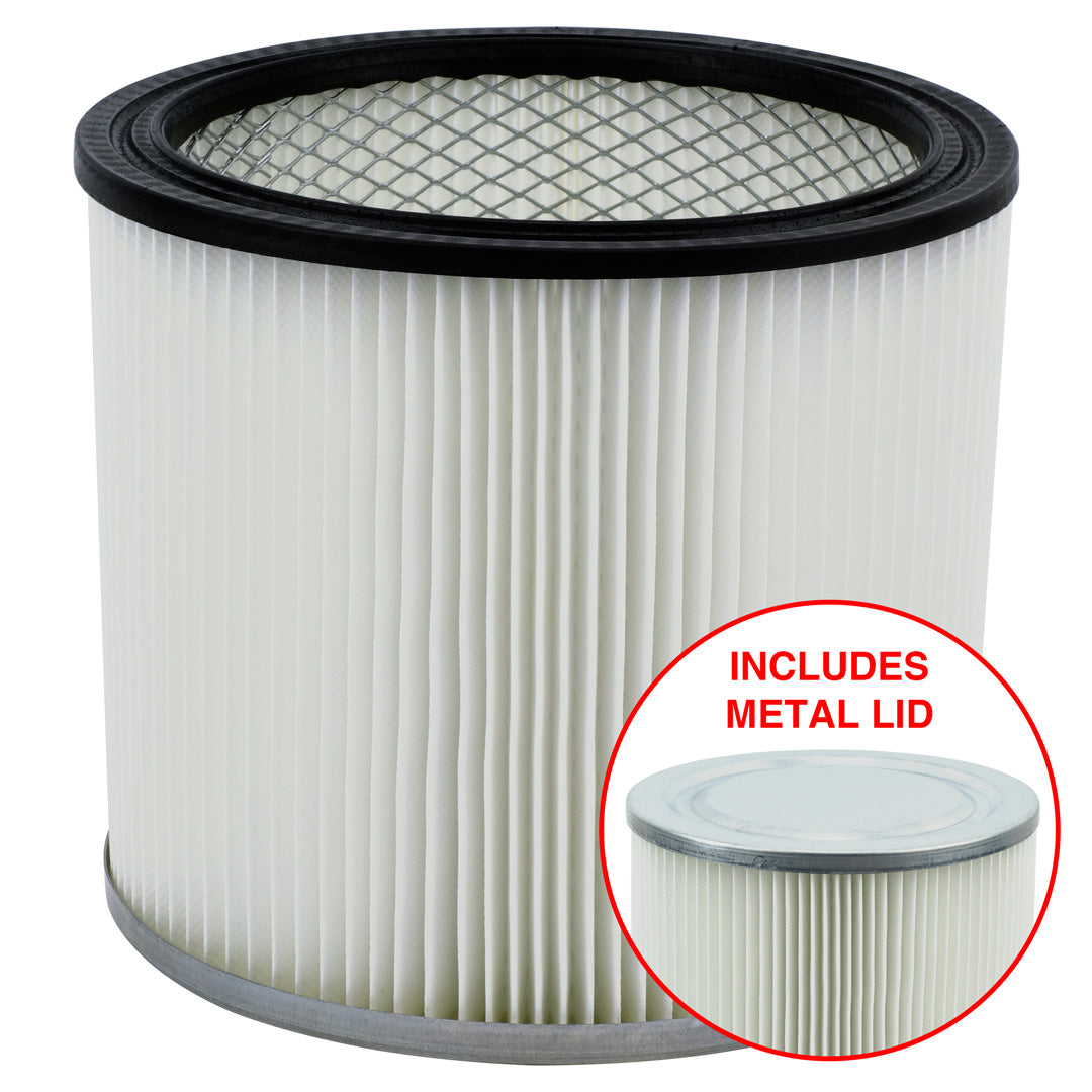 7 Pack Shop-Vac 90304 9030400 Cartridge Filter Replacement Type U fits Wet & Dry Vacs