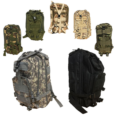 30L Military Molle Camping Backpack Tactical Hiking Travel Bag