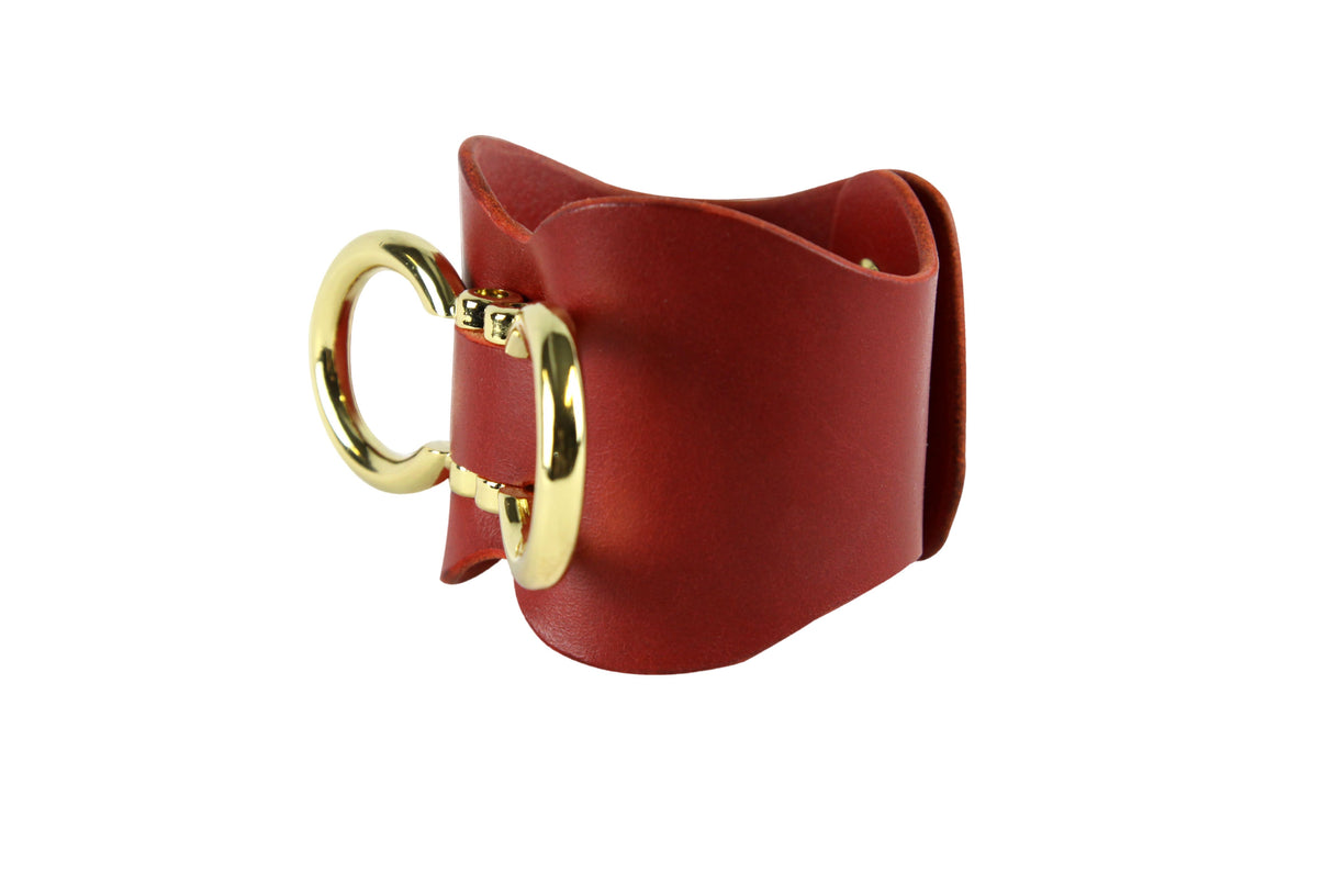 Leder Cuffs double
