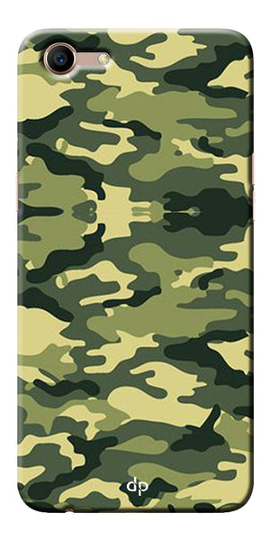 Army Pattern Back Case Cover For Oppo A83