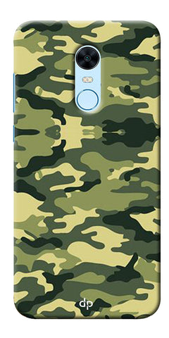 Army Pattern Back Case Cover For Xiaomi Redmi 5