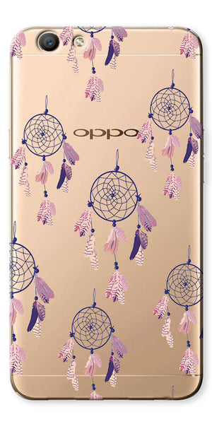 Digiprints Dream Catchers Clear Case For Oppo F1s