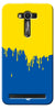 Digiprints dripping paint Printed Designer Back Case Cover For Asus Zenfone 2 Laser ZE550KL