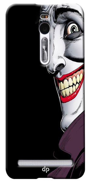 Digiprints The Joker Cartoon Printed Back Case Cover For Asus Zenfone 2 ZE551ML