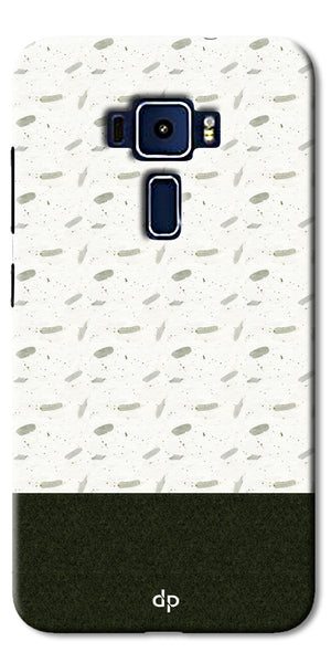 Digiprints Blak And White Art Printed Back Case Cover For Asus Zenfone 3 Laser ZC552KL