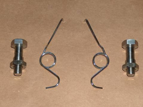Ducati 860 900 GT GTS Footrest Spring/Bolt KIT STAINLESS