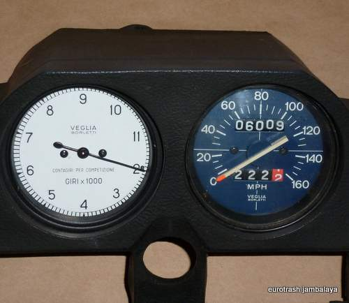 Moto Guzzi Tachometer VEGLIA replacement Lemans 850 1000