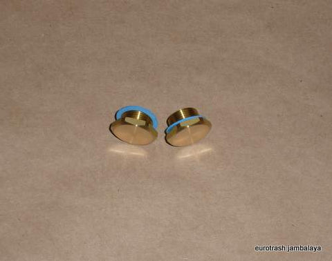Amal 622/155 Float Bowl DRAIN PLUG PAIR Triumph Norton BSA hex