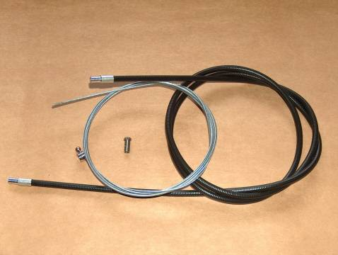 Ducati Single Front Brake Cable Kit bevel desmo 250 350 450