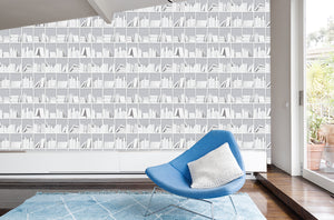White Library Wall / Novelty