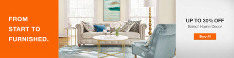 Home Depot 30% Off Home Decor Sale