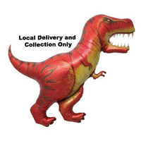 T-Rex Dinosaur Supershape Foil Balloon