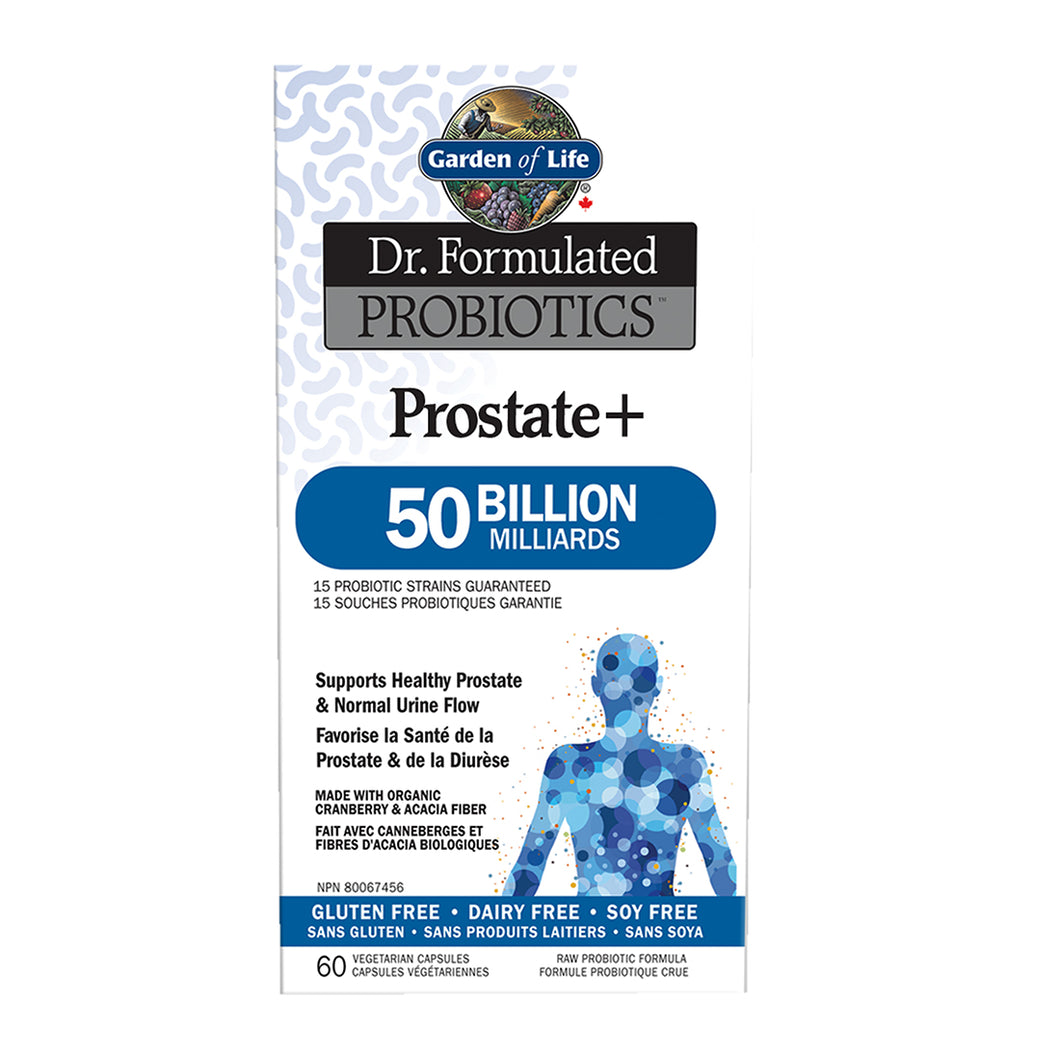 Garden of Life - Dr. Formulated Probiotics - Prostate+